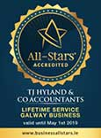 All Stars Award: Life Time Service Galway Business